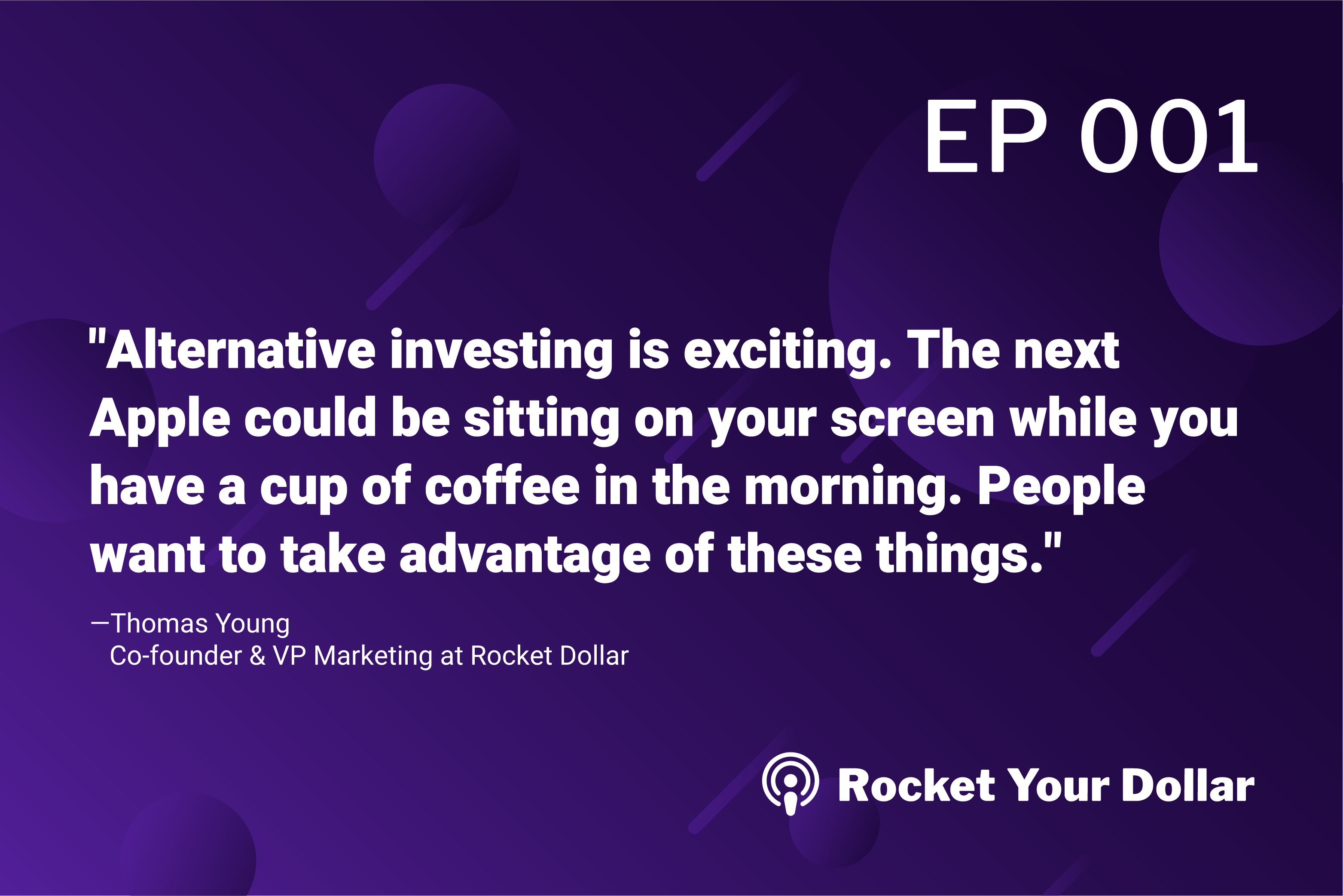 Rocket Your Dollar Ep. 1: 3 Reasons Why You Haven't Heard of Self-Directed Investing