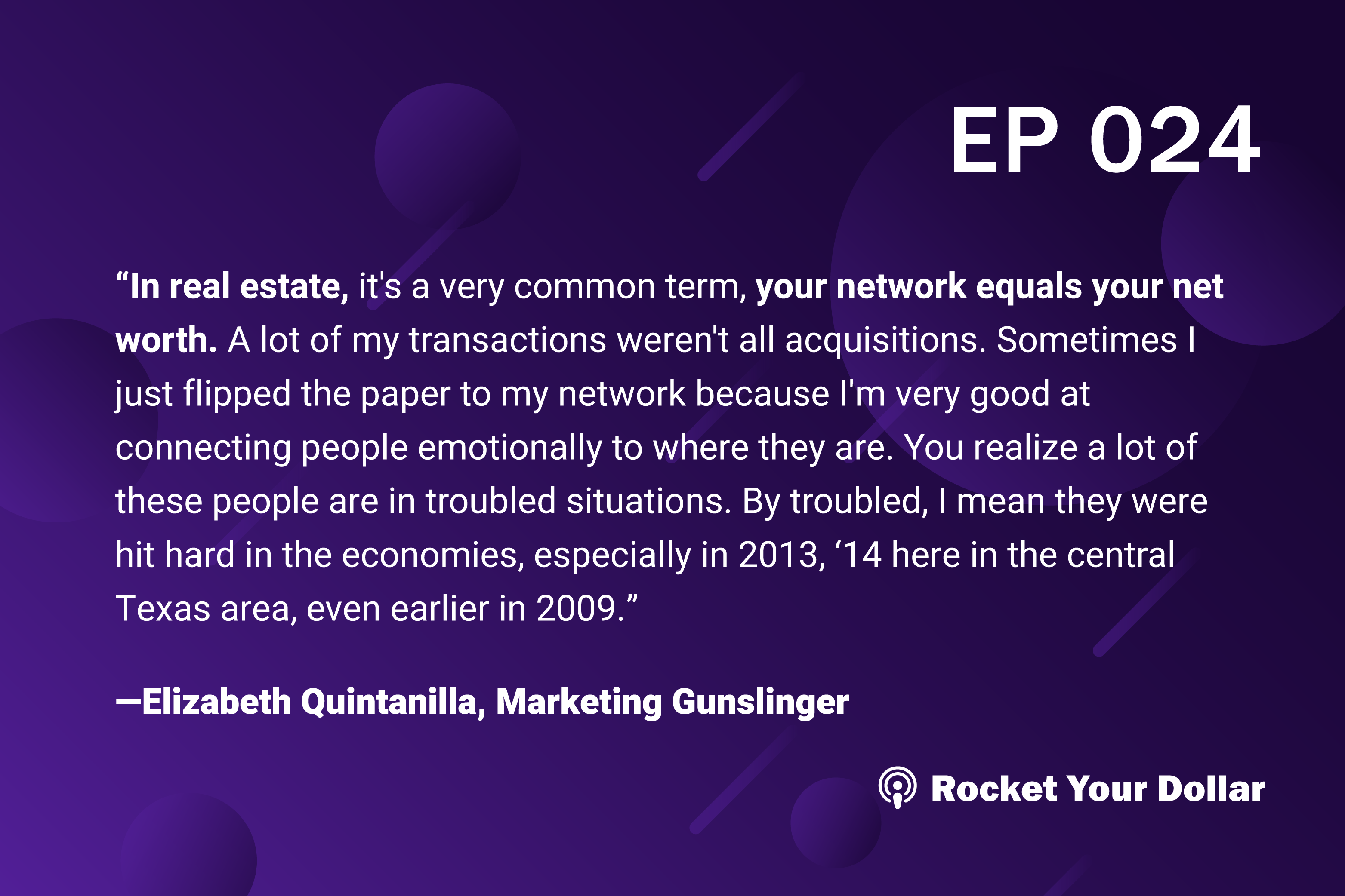 Rocket Your Dollar Ep. 24: Real Estate Investing for Social Good