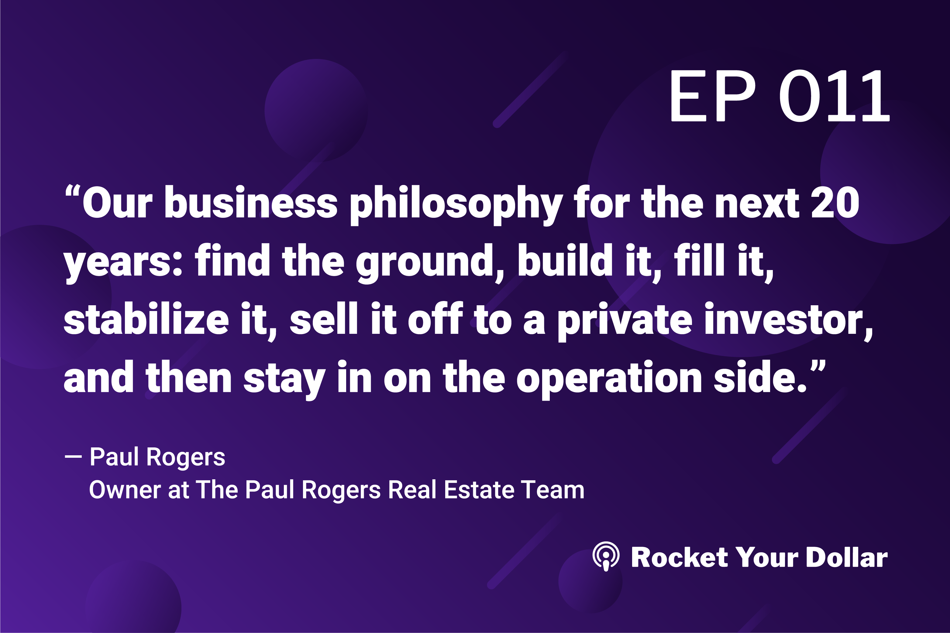 Rocket Your Dollar Ep.11: Senior Living Real Estate Investing
