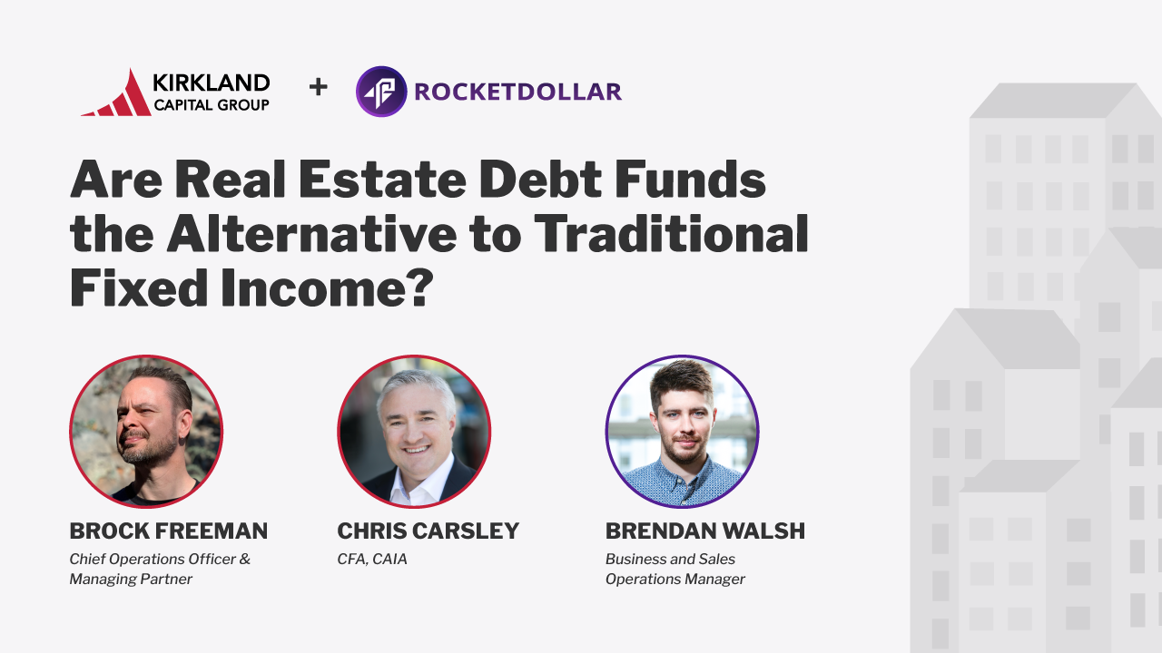 Are Real Estate Debt Funds the Alternative to Traditional Fixed Income?