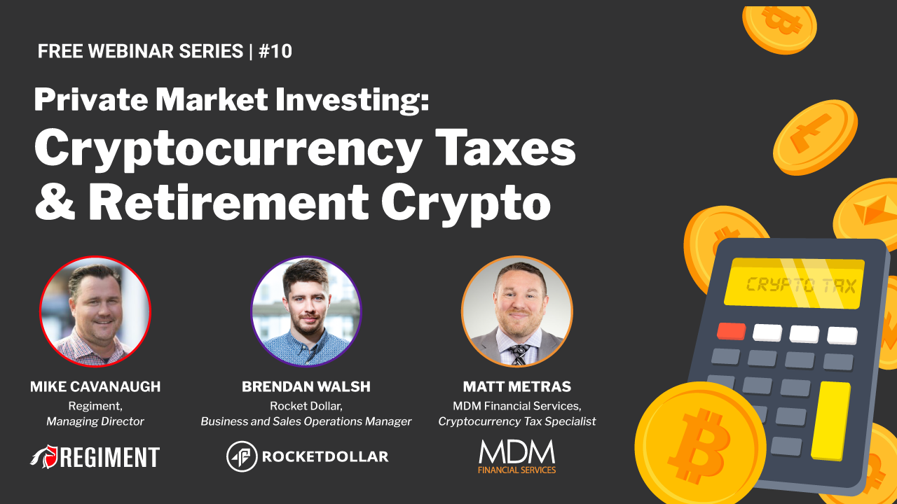 Cryptocurrency Tax & Retirement